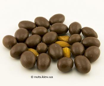 Миндаль в шоколаде драже