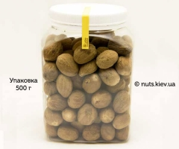 Мускатный орех целый - Упаковка 500 г