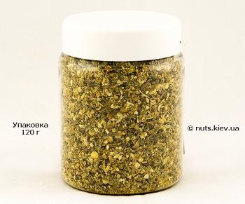 Паприка зеленая резаная - Упаковка 120 г