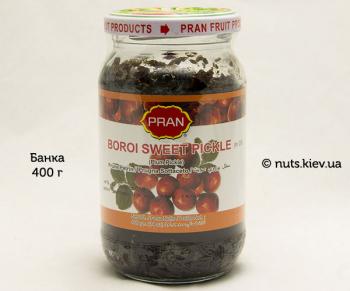 Пикули сладкие из ягод борой бенгальские Pran - Банка 400 г