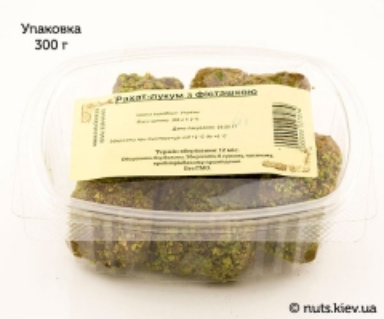 Рахат-лукум с фисташкой - Упаковка 300 г