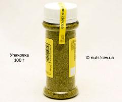 Сванская соль зеленая слабоострая - Упаковка 100 г