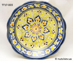 Тарелка глубокая 16-17 см - 003