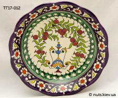Тарелка глубокая 16-17 см - 012