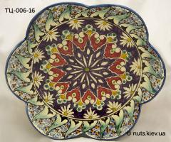 Тарелка Цветок 25-26 см - 006
