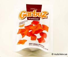 Тыква вяленая с натуральным вкусом апельсина - Новая упаковка 100 г