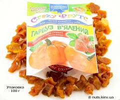 Тыква вяленая с натуральным вкусом клубники - Упаковка 100 г