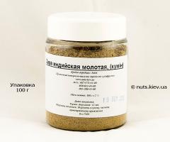Зира индийская молотая, кумин - Упаковка 100 г