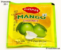 Чатни манговый бенгальский, из мякоти зеленого манго Pran - Упаковка 20 г
